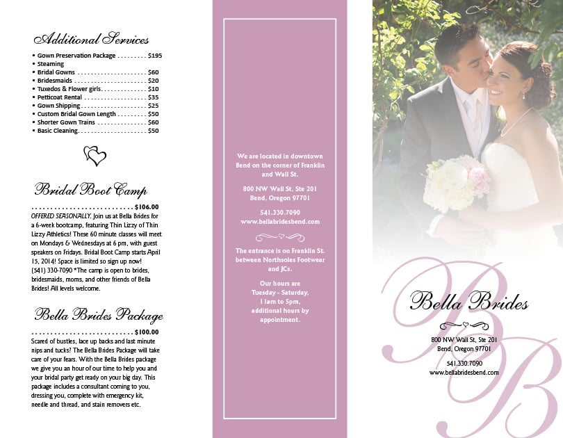 Bella Brides - chalked creative
