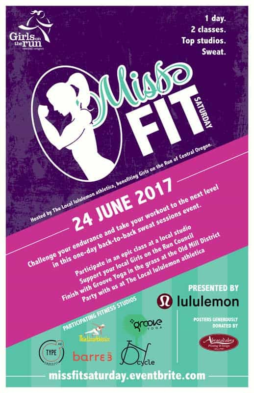 Miss Fit Poster 2017